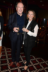 Writer WILLIAM BOYD and his wife SUSAN BOYD at a party to celebrate the publication of 'Passion for Life' by Joan Collins held at No41 The Westbury Hotel, Mayfair, London on21st October 2013.