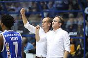 Federico Pasquini<br /> Red October Cantu' Banco di Sardegna Sassari<br /> Basket serie A 2016/2017<br /> Milano 23/10/2016<br /> Foto Ciamillo-Castoria<br /> Provvisorio