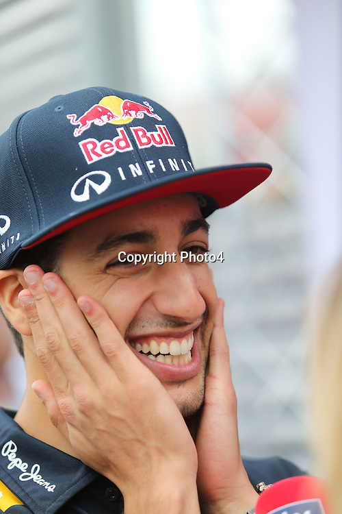 &copy; Photo4 / LaPresse<br /> 02/07/2015 Silverstone, England<br /> Sport <br /> Grand Prix Formula One England 2015<br /> In the pic: Daniel Ricciardo (AUS) Red Bull Racing RB11