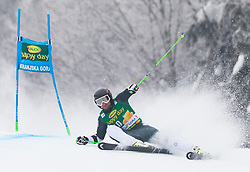 Willis Feasey of New Zeland during 1st run of Men's Giant Slalom race of FIS Alpine Ski World Cup 57th Vitranc Cup 2018, on 3.3.2018 in Podkoren, Kranjska gora, Slovenia. Photo by Urban Meglič / Sportida