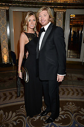 NICKY CLARKE and KELLY SIMPKIN at the inaugural Stephen Lawrence Memorial Ball held at The Dorchester, Park Lane, London on 17th October 2013.