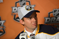 Day 2 of the 2014 NHL Entry Draft in Philadelphia, PA on Saturday June 28, 2014. Photo by Aaron Bell/CHL Images