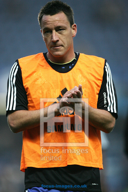 Picture by Paul Terry/Focus Images Ltd. 07545642257.20/11/11.John Terry of Chelsea warms up before the Barclays Premier League match at Stamford Bridge stadium, London.
