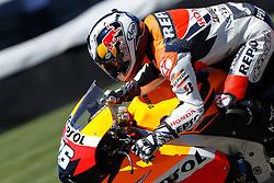 27.08.2010, Motor Speedway, Indianapolis, USA, MotoGP, Red Bull Indianapolis Grand Prix, im Bild Dani Pedrosa - Repsol Honda team, EXPA Pictures © 2010, PhotoCredit: EXPA/ InsideFoto/ Semedia *** ATTENTION *** FOR AUSTRIA AND SLOVENIA USE ONLY!