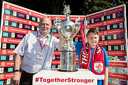 NEWTOWN, WALES - Sunday, May 6, 2018: xxxx during the FAW Welsh Cup Final between Aberystwyth Town and Connahs Quay Nomads at Latham Park. (Pic by Paul Greenwood/Propaganda)