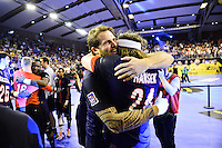 Joie William ACCAMBRAY / Mikkel HANSEN - 04.06.2015 - Tremblay en France / Paris Saint Germain - 26eme journee de Division 1 -Beauvais<br />