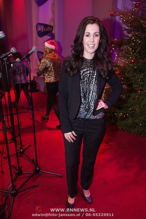 NLD/Hilversum /20131210 - Sky Radio Christmas Tree For Charity 2013, Jill Helena