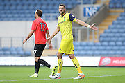 Oxford United's Aaron Martin during the Pre-Season Friendly match between Oxford United and Brighton and Hove Albion at the Kassam Stadium, Oxford, England on 26 July 2016.