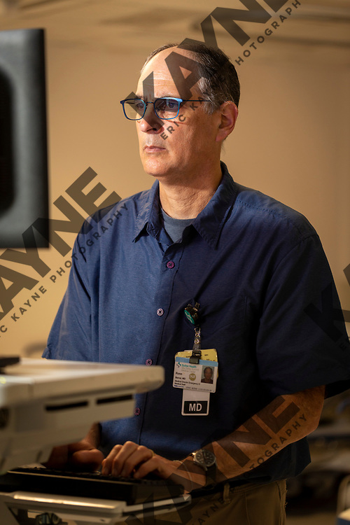 Dr. Ronn Berrol, Tuesday, April 17, 2018 in Oakland, CA at the Alta Bates Summit Medical Emergency Center.