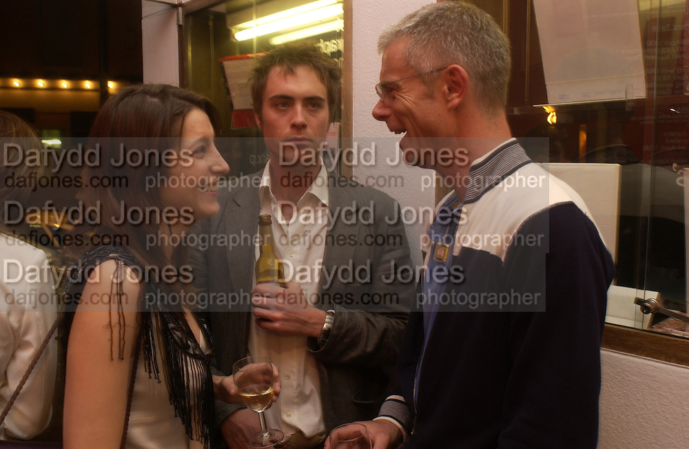 Stephen Daldry, Princess Tamara Czartorski Borbon, James Murray and , The Shape of Things, first night party. Photographers Gallery, 17 May 2004. ONE TIME USE ONLY - DO NOT ARCHIVE  © Copyright Photograph by Dafydd Jones 66 Stockwell Park Rd. London SW9 0DA Tel 020 7733 0108 www.dafjones.com