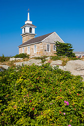Chapel on Star Island, Rye, New Hampshire. Isles of Shoals.
