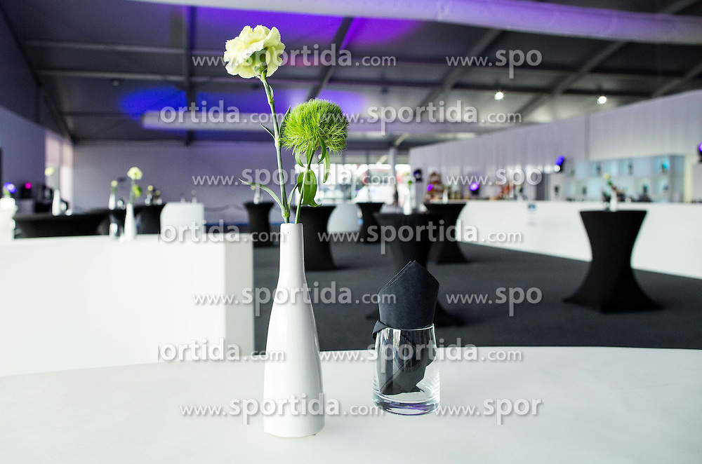 VIP Catering prior to the basketball match between Slovenia vs Greece at Day 5 in Group C of FIBA Europe Eurobasket 2015, on September 9, 2015, in Arena Zagreb, Croatia. Photo by Vid Ponikvar / Sportida