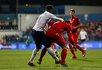 PODGORICA, MONTENEGRO - MARCH 25: England's Callum Hudson-Odoi during the 2020 UEFA European Championships group A qualifying match between Montenegro and England at Podgorica City Stadium on March 25, 2019 in Podgorica, Montenegro. (MB Media)