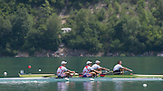 Aiguebelette, FRANCE.  CRO M2X.  Bow Martin SINKOVIC and Valent SINKOVIC. Sunday, B Finals at the  .  13:09:05  Sunday  22/06/2014. [Mandatory Credit; Peter Spurrier/Intersport-images]