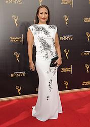 Carrie Anne Inaba bei der Ankunft zur Verleihung der Creative Arts Emmy Awards in Los Angeles / 110916 <br /> <br /> *** Arrivals at the Creative Arts Emmy Awards in Los Angeles, September 11, 2016 ***