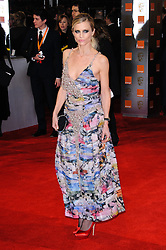 Laura Bailey arrive for the 2012 ORANGE BRITISH ACADEMY FILM AWARDS, The Bafta's at The Royal Opera House, Covent Garden, London. Photo By I-Images