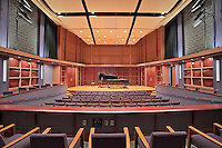 Baltimore Interior photographer stock image of performing arts theater at Howard County Community College by Architectural Photographer Jeffrey Sauers at Commercial Photographics