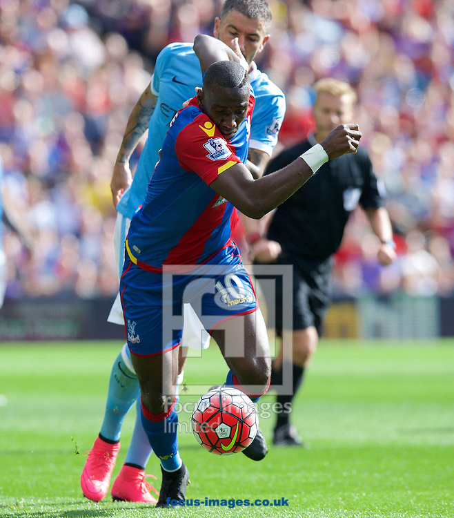 Yannick Bolasie of Crystal Palace during the Barclays Premier League match at Selhurst Park, London<br /> Picture by Alan Stanford/Focus Images Ltd +44 7915 056117<br /> 12/09/2015