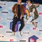 NLD/Rotterdam/20161106 - MTV EMA's 2016, Jack Gilinsky en Jack Johnson