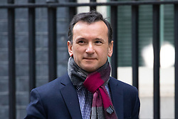 © Licensed to London News Pictures. 29/01/2019. London, UK. Secretary of State for Wales Alun Cairns leaves 10 Downing Street after attending a Cabinet meeting this morning. Photo credit : Tom Nicholson/LNP