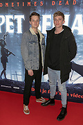 2019, March 28. Pathe ArenA, Amsterdam, the Netherlands. Jard Struik at the dutch premiere of Pet Sematary.