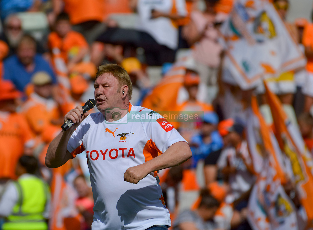 Leon Schuster during the Currie Cup Final between the The Free State Cheetahs and Blue Bulls held at Toyota Stadium (Free State Stadium), Bloemfontein, South Africa on the 22nd October 2016<br /> <br /> Photo by:   Frikkie Kapp / Real Time Images