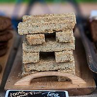Evelyn's Crackers' kamut flour shortbread.