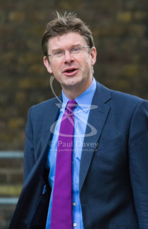 Downing Street, London, June 16th 2015. Greg Clark, Secretary of State for Communities and Local Government arrives at 10 Downing Street for the weekly cabinet meeting.