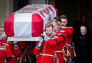 Funeral of Prince Henrik of Denamark, Copenhagen, 20-02-2018