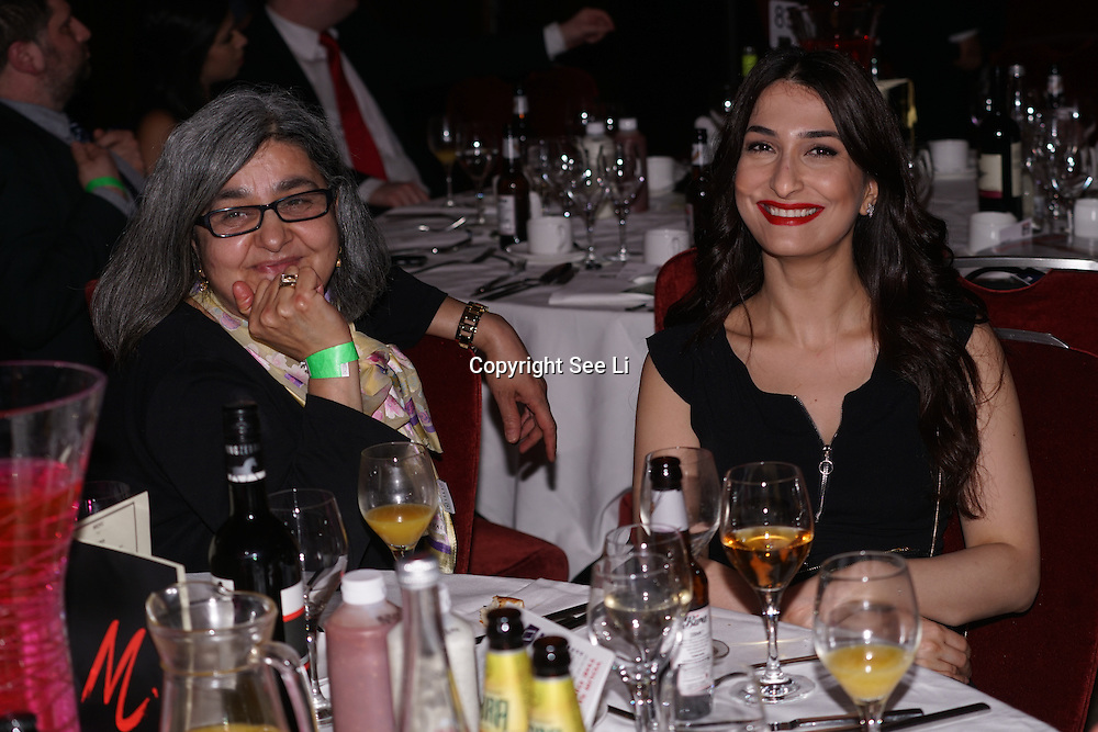 One and a half thousands guests attends the 5th British Kebab Awards with honourable guest Cllr Saleha Jaffer, The Mayor of Lambeth and The Lord Bilimoria presents the awards at Park Plaza Westminster ,London,UK. by See Li