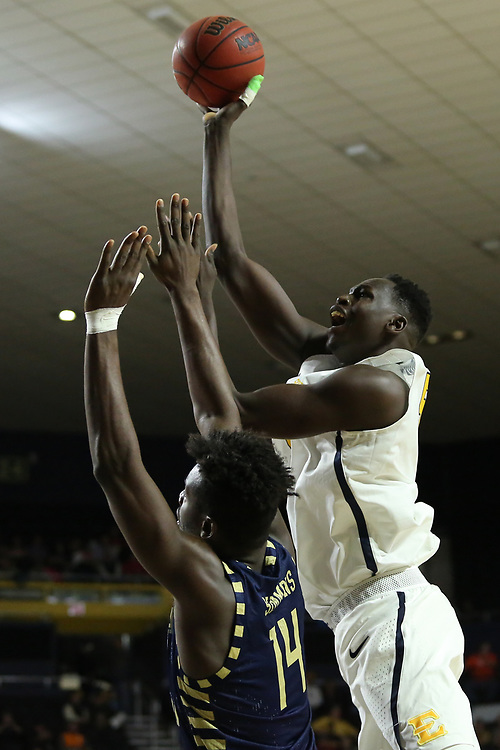 December 22, 2017 - Johnson City, Tennessee - Freedom Hall: ETSU center Peter Jurkin (5)<br /> <br /> Image Credit: Dakota Hamilton/ETSU