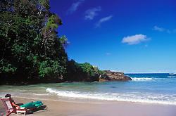 Itacare, Bahia, Brasil..Praia de Itacare. Itacare beach..Foto ©Ricardo Benichio/Argosfoto
