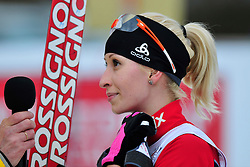 LYSOVA Mikhalina Guide: IVANOV Alexey, RUS at the 2014 IPC Nordic Skiing World Cup Finals - Middle Distance