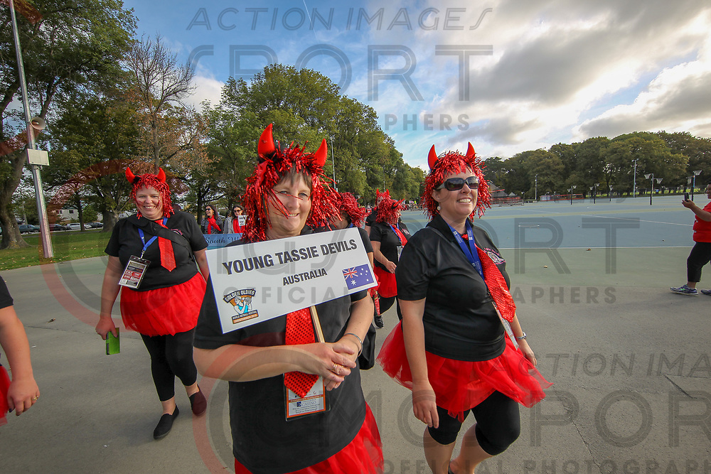 {OBJECT NAME}<br /> PARADE OF NATIONS<br /> {SUPP CAT1}<br /> {SUPP CAT2}<br /> {SUPP CAT3}<br /> 1/04/2018<br /> Photo KEVIN CLARKE ANZIPP CMG SPORT ACTION IMAGES<br /> &copy;cmgsport2018