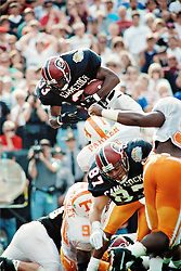 Brandon Bennett scores winning TD to beat Tennesse in 1992 game.