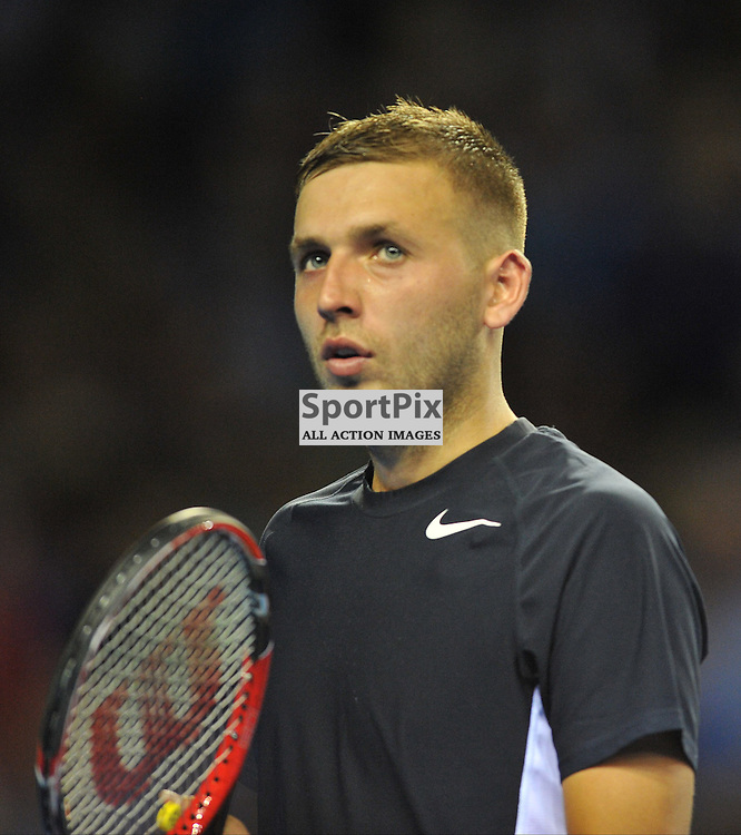 Dan Evans during the Great Britain v Australia, Semi Finals,  Aegeon Davis Cup by BNP Paribas, Friday 18 September 2015 (c) Angie Isac | SportPix.org.uk