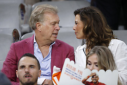 (L-R) Marcel Boekhoorn, Rebecca Cabau van Kasbergen during the International friendly match match between The Netherlands and Peru at the Johan Cruijff Arena on September 06, 2018 in Amsterdam, The Netherlands
