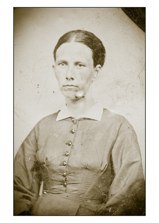Tintypes of the Ellis Family of Maine, circa 1880