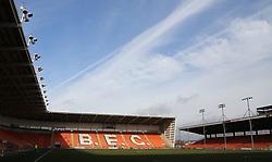 A general view of Blackpool's Bloomfield Road stadium - Mandatory by-line: Joe Dent/JMP - 18/02/2018 - FOOTBALL - Bloomfield Road - Blackpool, England - Blackpool v Peterborough United - Sky Bet League One