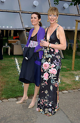 Left to right, LADY PALUMBO and Co-host JULIA PEYTON-JONES at the annual Serpentine Gallery Summer Party co-hosted by Jimmy Choo shoes held at the Serpentine Gallery, Kensington Gardens, London on 30th June 2005.<br /><br />NON EXCLUSIVE - WORLD RIGHTS