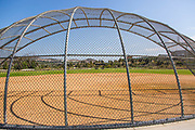 Softball Field at Sendero Field Park in Rancho MIssion Viejo