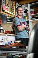 Jan Geeraerts van Old Glory Barbers in Herenthout-foto joren de weerdt