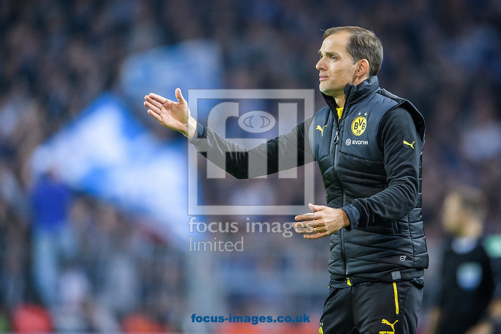 Thomas Tuchel, head coach of Borussia Dortmund during the Bundesliga match at Signal Iduna Park, Dortmund<br /> Picture by EXPA Pictures/Focus Images Ltd 07814482222<br /> 29/10/2016<br /> *** UK &amp; IRELAND ONLY ***<br /> EXPA-EIB-161030-0042.jpg