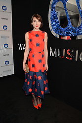 ELLA CATLIFF at the Warner Music Group & Belvedere BRIT Awards After Party held at The Savoy, London on 19th February 2014.