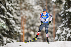 March 9, 2019 - –Stersund, Sweden - 190309 Sean Doherty of USA competes in the Men's 10 KM sprint during the IBU World Championships Biathlon on March 9, 2019 in Östersund..Photo: Petter Arvidson / BILDBYRÃ…N / kod PA / 92252 (Credit Image: © Petter Arvidson/Bildbyran via ZUMA Press)