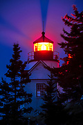 Lighthouse, Bass Harbor, Maine,  USA