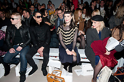 © Licensed to London News Pictures. 17/02/2012. London, UK. Singer Kate Nash  on the front row for Bora Aksu show by designer Bora Aksu Autumn/Winter 2012 collection for London Fashion Week 2012 at Somerset House on February 17th, 2012. Photo credit : Ben Cawthra/LNP