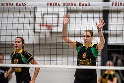18-11-2017 NED: Beker PDK Huizen - Eurosped TVT, Huizen<br /> Huizen verliest uiteindelijk in aantrekkelijk duel met 3-2 van Eurosped / Bianca de Kock #9 of PDK Huizen