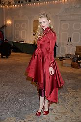 KATIA ELIZAROVA at Fashion For The Brave at The Dorchester, Park Lane, London on 8th November 2013.