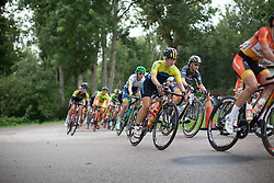 Emmy Thelberg (SWE) of Team Sweden rides mid-pack in the second lap around Vårgårda during the 141 km road race of the UCI Women's World Tour's 2016 Crescent Vårgårda women's road cycling race on August 21, 2016 in Vårgårda, Sweden. (Photo by Balint Hamvas/Velofocus)